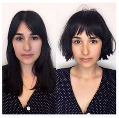 New Bob Haircuts 2019 & Bob Hairstyles 25 Bob Hair Trends for Women - Hairstyles Trends Short Curly Haircuts, Bob Haircuts For Women, Curly Hair Cuts, Short Hair Cuts For Women, Hairstyles With Bangs, Curly Hair Styles, Haircut Short, Bob Haircut Bangs, French Hairstyles