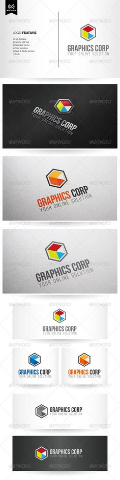 Graphics Logo  #GraphicRiver         The logo is vector format so you can re-sized without losing the quality.  	 Included in the download  	 • Ai File (cs3 or later) • EPS  	 Free fonts used in the design:  	 • Bebas Neue –  .fontsquirrel /fonts/bebas-neue • Ostrich Sans –  .fontsquirrel /fonts/open-sans     Created: 10May13 GraphicsFilesIncluded: JPGImage #VectorEPS #AIIllustrator Layered: Yes MinimumAdobeCSVersion: CS3 Resolution: Resizable Tags: 3d #abstractlogo #boxlogo #colorfullogo…