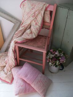 painted chair from Lavender House Vintage