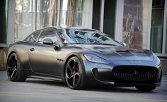 2011 maserati granturismo s superior black edition by anderson germany media gallery. featuring 15 maserati granturismo s superior black edition by (. Bugatti, Lamborghini Sesto, My Dream Car, Dream Cars, Supercars, Maserati Gt, Matte Black Cars, Matte Cars, Sesto Elemento