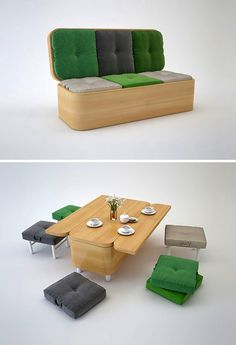 ¿Muebles o transformers?