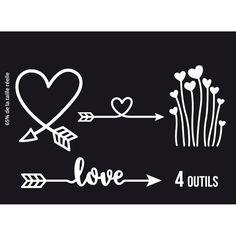 Outils de découpe DIRECTION LOVE X3