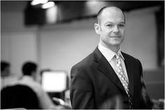 LinkedIn & Social Media Corporate Portraits by James Crockford, via Behance