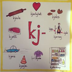 Kj-lyden Danish Language, Swedish Language, Norway Language, Barn Crafts, Weather Words, Reading Words, Communication Skills, Kids Education, Kids And Parenting