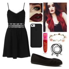 """""""Wedding with Raven ~Nyx"""" by xxgraveyardbabyxx on Polyvore featuring Topshop, Blowfish, Jeffree Star and Accessorize"""