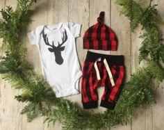 Recién nacido niño tome casa traje / muchacho recién por anUPdesign