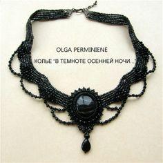 olga-LT, Cabochon, necklace