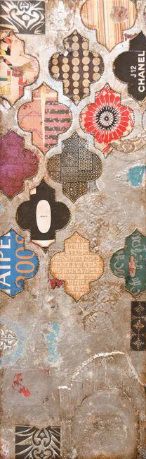 Jill Ricci, Mixed Media on Canvas, abstract, art, contemporary art