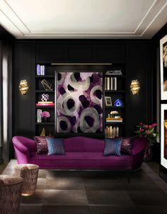 feminine vibes radiate from the koket furniture line. # koket, Wohnzimmer dekoo