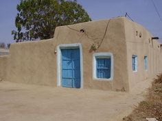 A Punjabi mudbrick home in Pakistan