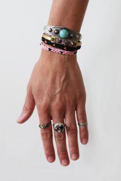 DIY Polka Dot Friendship Bracelet