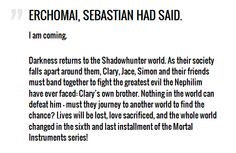 COHF synopsis!! :) AH! ~ Did they say LAST installment?!?