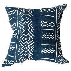 "Image of African Indigo ""Chandra"" Pillow"