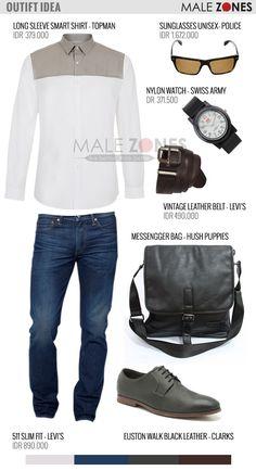 Outfit Idea 4 Men - Ramadhan Smart Casual