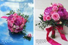 Ramo de novia de rosas de jardín :: Wedding Bouquet with garden roses by arbolande