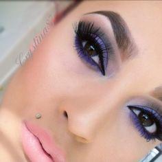 Purple smoky