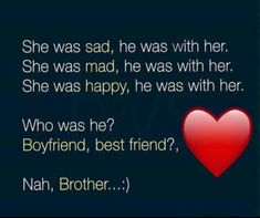 Brother And Sister Songs, Brother Sister Relationship Quotes, Brother Sister Love Quotes, Brother And Sister Love, Sister Captions, Dear Diary Quotes, Siblings Funny, Memories Quotes, Jokes Quotes