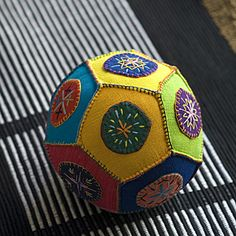 Hand embroidered ball