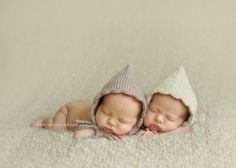 Knit Baby Girl Hat  Scalloped Edge Pixie Bonnet by goodnightmouse, $32.00