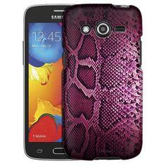 Samsung Galaxy Avant Pink Snake Skin Slim Case