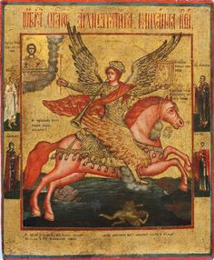 Michail the archangel icon