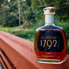 Released in this bottling from the Barton 1792 Distillery starts with the same mash bill as the non-age-stated flagship bottling Small Batch) Wine Bottles, Glass Bottles, Vodka Bottle, Perfume Bottles, Bourbon Drinks, Bourbon Whiskey, Whisky, Top Bourbons, Juicy Juice