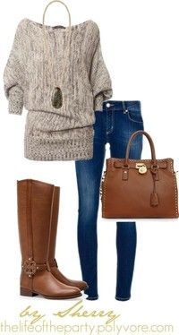 My Style - Fall Outfit cute sweater #ugg #boots