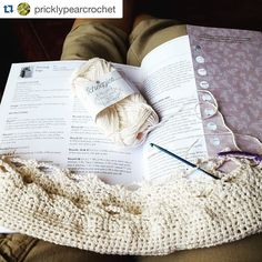 scheepjes We are really enjoying seeing all your WIP's from our new YARN bookazine! @pricklypearcrochet is busy making beach bags using our #LinenSoft yarn.  Are you making anything from YARN bookazine? Share it with us by tagging @scheepjes or #Scheepjes #YARNbookazine. We'd love to see!!!