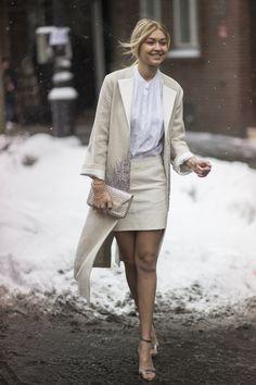 17 februari 2015 - Gigi Hadid Style File