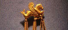 King Croesuss golden brooch  Turkey 2000 years old