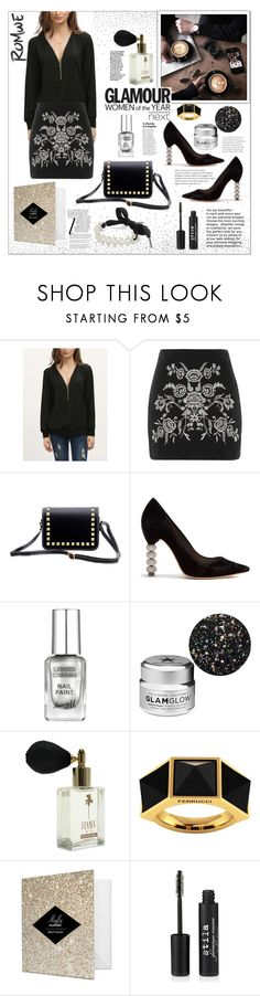 """""""Romwe"""" by natalyapril1976 on Polyvore featuring Mode, Topshop, Goody, Sophia Webster, GlamGlow, Ferrucci, Stila und Whiteley"""
