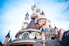 Disney castle...