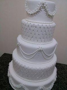 bolo de casamento em biscuit - Pesquisa Google