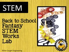 Ready to add STEM to your classroom? Try our Back to School Fantasy STEM Lab Works!Your students will use the engineering design process to create a 3 dimensional model of a STEM classroom.  They will plan and design furniture, storage and equipment that will be needed.