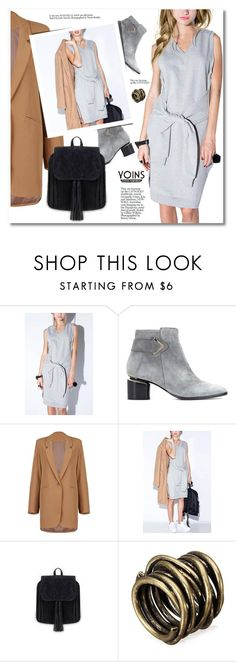 """""""Yours inspiration YOINS"""" by svijetlana ❤ liked on Polyvore featuring Nicholas Kirkwood, women's clothing, women's fashion, women, female, woman, misses, juniors and yoins"""