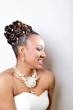 African American Wedding Hair Style Ideas On Pinterest
