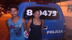#LEIAMAIS WWW.OBSERVADORINDEPENDENTE.COM ALAGOINHAS: Polícia Militar prende casal acusado de assalto no Barreiro
