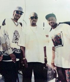 Snoop, Pac and MC Hammer.
