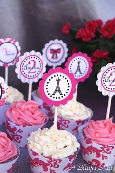 Possible Birthday Party Theme:  French Poodles in Paris!