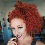 """1,297 curtidas, 18 comentários - Nathany Sampaio (@tontaeformosa) no Instagram: """"Finalização COG, lançamento da @fiquedivacomniely  Preciso nem dizer que gostei né gente, só olhem…"""" curly hair, red head, cachos, cachos ruivos, ruiva cacheada, cacheada"""