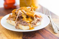 Slow-cooker Pulled Pork with BBQ Sauce