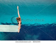 Springboard Diving kept me in the pool for many hours - 1 and 3 meter . . .