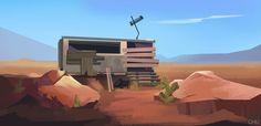 ArtStation - Overwatch: Route 66 Inspired, Janice Chu
