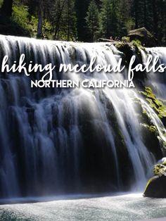 Hiking McCloud Falls in Northern California