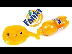 How To Make Glitter FANTA SLIME !! - YouTube