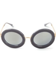 Shop Markus Lupfer By Linda Farrow Gallery The Row x Linda Farrow oval sunglasses in Julian Fashion from the world's best independent boutiques at farfetch.com. Over 1500 brands from 300 boutiques in one website.