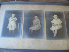 Reduced From 105.00:  Early 1900's Photos in by TheBagLadyVintage