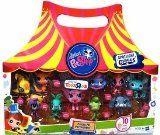 Littlest Pet Shop Exclusive 10-Pack Circus Pet Collection #littlestpetshop #toys