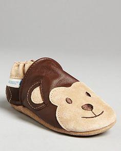 Robeez Infant Boys' Monkey Shoes - Sizes 1-4 Infant | Bloomingdale's