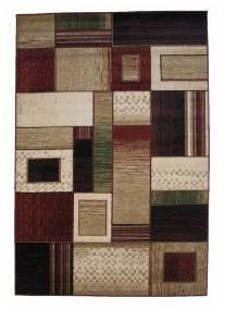 LA Rug 0103-30-2X4 Sequoia Collection Multi-Color